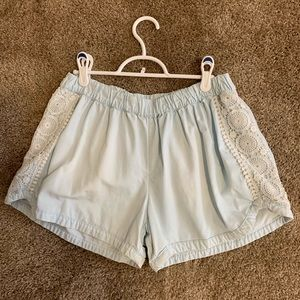 Mossimo shorts with lace